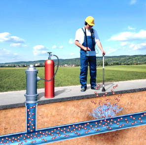 Detección técnica de fugas de agua