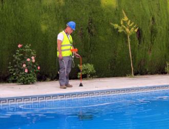 Detección de fugas de agua en piscinas